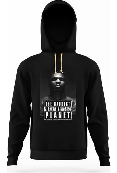 Tshirthane Mike tyson the baddest Erkek Sweatshirt