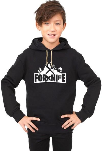 Tshirthane Fortnite FoRkNiFe Çocuk Sweatshirt
