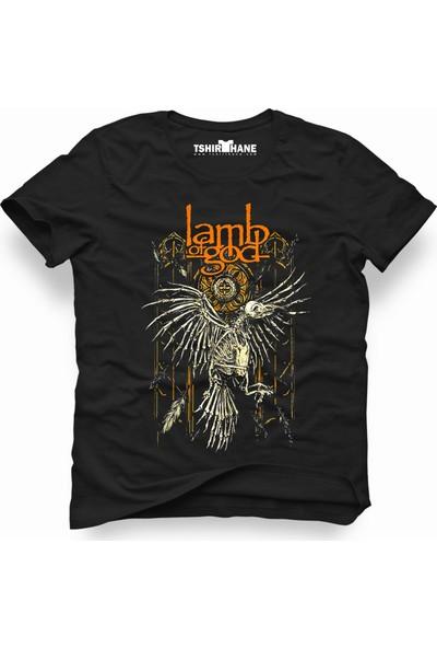 Tshirthane Lamb of God crow Erkek T-Shirt