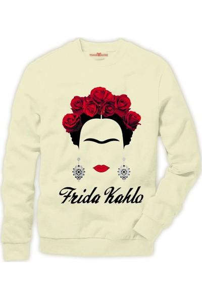 Tshirthane Frida Kahlo Erkek Sweatshirt