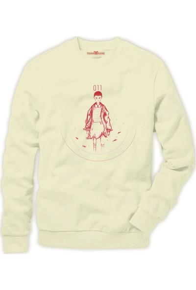 Tshirthane Stranger Things Eleven 11 Tee Erkek Sweatshirt