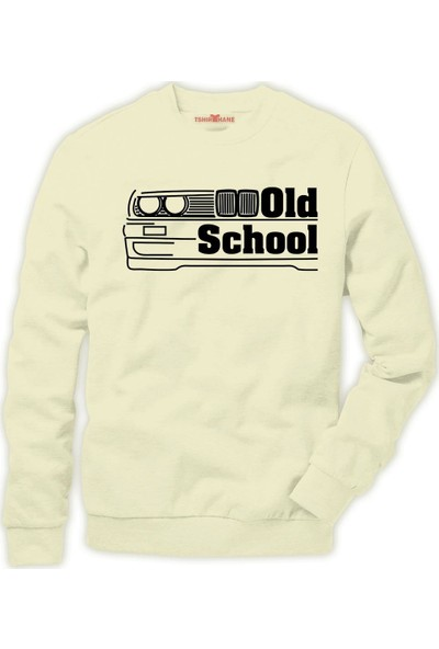 Tshirthane BMW bmw Old School Erkek Sweatshirt
