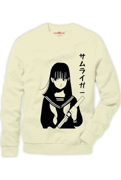 Tshirthane One Punch Man Erkek Sweatshirt