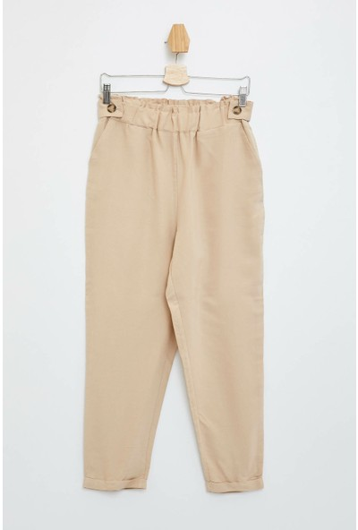 Defacto Kadın Lastikli Slim Fit Pantolon