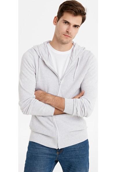 LC Waikiki Erkek Kapüşonlu Sweatshirt