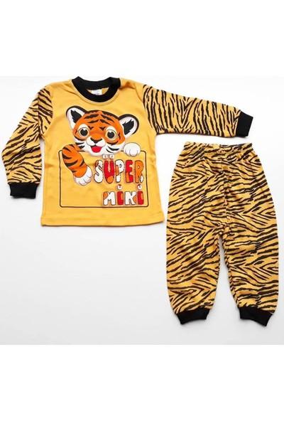 Bebegen Tiger Sarı Siyah 2'li Bebek Takım