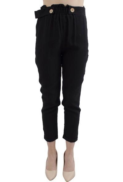 Arda New Line Kadın Siyah Pantolon 0803413-10.01