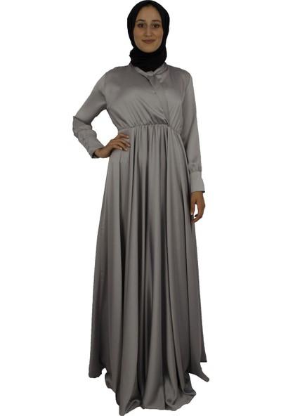 Arda New Line Kadın Gri Elbise 3304214-10.06