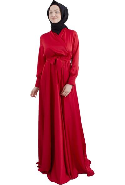 Arda New Line Kadın Kırmızı Elbise 3304214-10.08