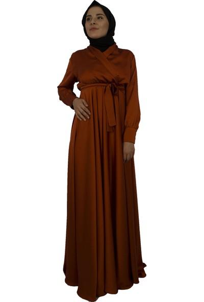 Arda New Line Kadın Kiremit Elbise 3304214-10.48