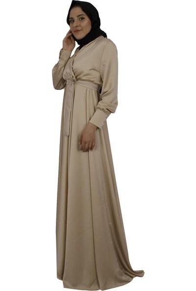 Arda New Line Kadın Bej Elbise 3304214-10.55