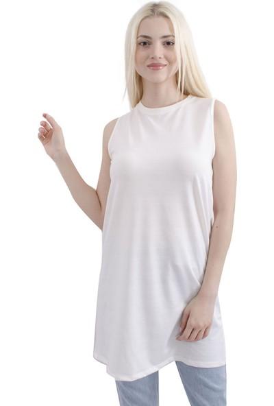 Arda New Line Kadın Krem Rengi Tunik 3411112-10.19