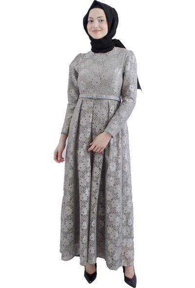 Arda New Line Kadın Gri Elbise 6502202-10.06
