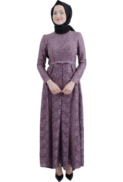 Arda New Line Kadın Gül Kurusu Elbise 6502202-10.25