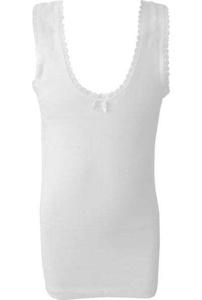 Özkan Underwear 1605 Ribana Kız Çocuk Atlet