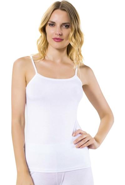 Özkan Underwear 24264 Kadın İp Askılı Modal Atlet