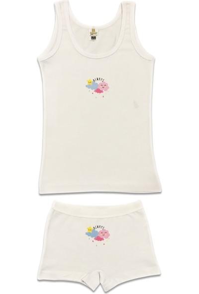 Özkan Underwear 42158 Kız Çocuk İç Giyim Takım