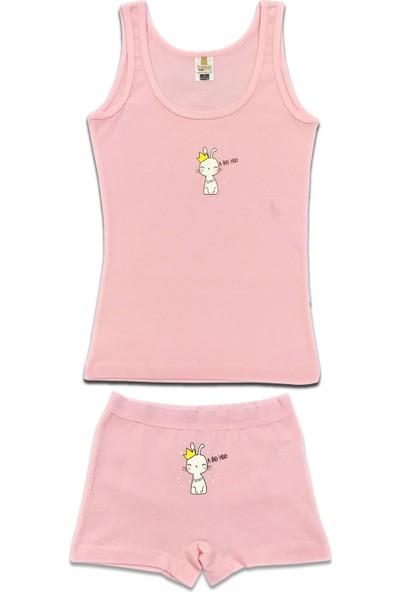 Özkan Underwear 42161 Kız Çocuk İç Giyim Takım