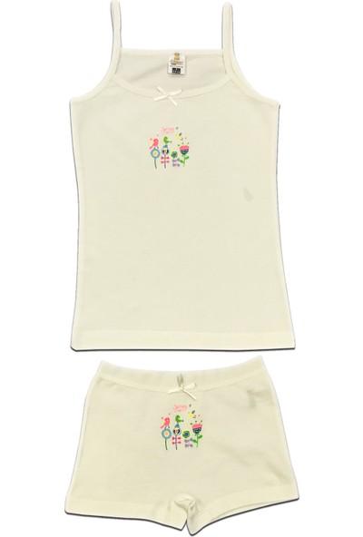 Özkan Underwear 42273 Kız Çocuk İç Giyim Takım