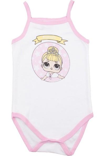 Fuar Baby İp Askılı Princess Çıtçıtlı Body