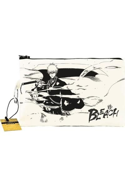 Bant Giyim - Bleach Bez Cüzdan Clutch El Çantası