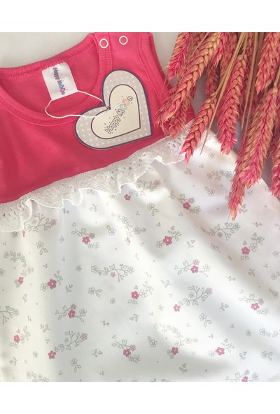 Happy Moon Çiçek Desenli Elbise