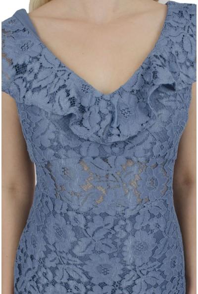 Arda New Line Kadın Indigo Elbise 130137-10.98