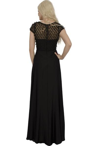 Arda New Line Kadın Siyah Abiye 1301466-10.01