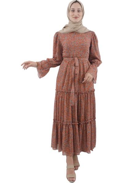Arda New Line Kadın Kiremıt Elbise 3304189-10.48