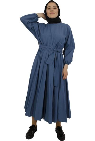 Arda New Line Kadın İndigo Elbise 5305187-10.98