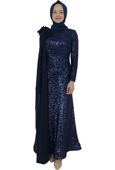 Arda New Line Kadın Lacivert Abiye 6502175-10.02