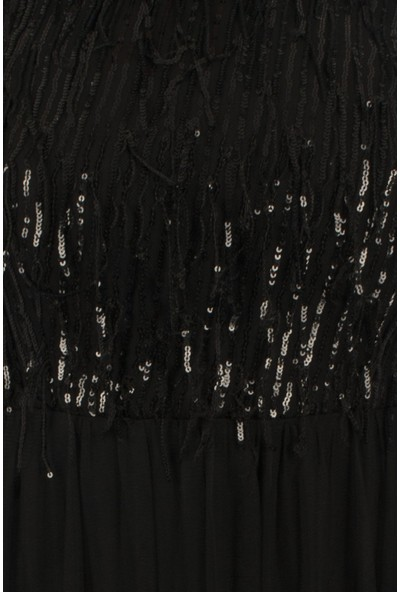Arda New Line Kadın Siyah Abiye 6502189-10.01