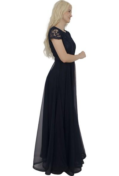 Arda New Line Kadın Lacivert Abiye 6502194-11.02