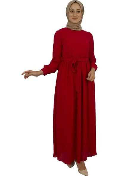 Arda New Line Kadın Kırmızı Elbise 7709116-10.08