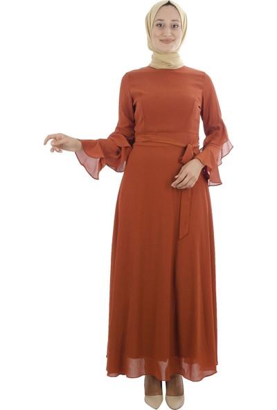 Arda New Line Kadın Kiremıt Elbise 7709165-10.48
