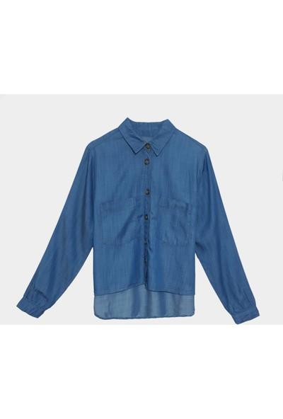 Coten Concept Kadın Tensel Düğmeli Gömlek