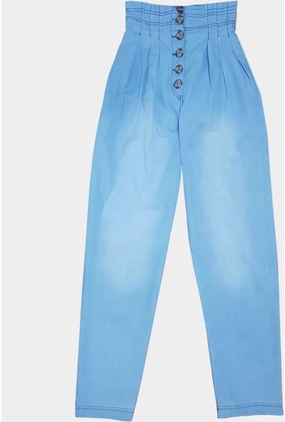 Coten Concept Kadın Paperbag Tensel Pantolon