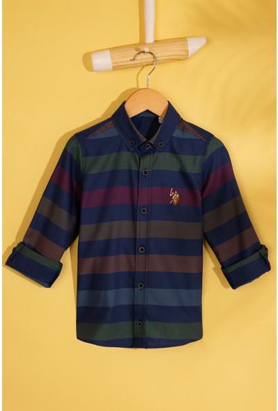 U.S. Polo Assn. Erkek Çocuk Dokuma Gömlek 50208198-Vr033