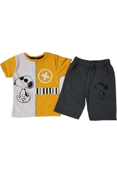Çıtır Kids Kısa Kollu Şortlu Erkek Bebek Takım