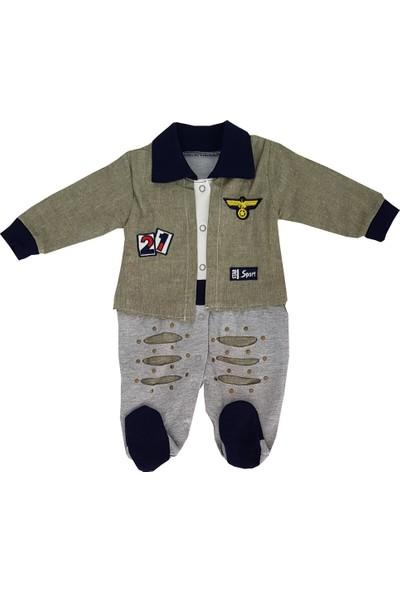 Minidon Ceketli Erkek Bebek Tulum