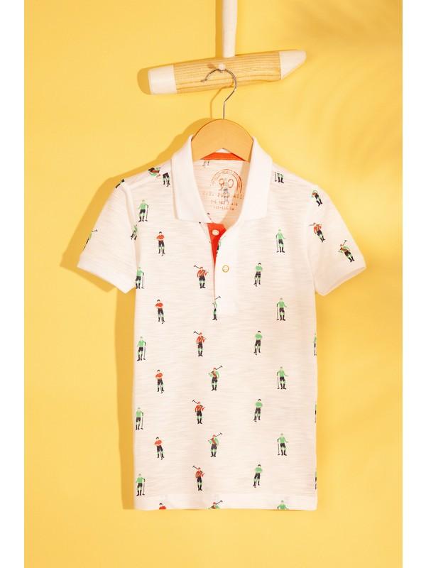 U.S. Polo Assn. Erkek Çocuk T-Shirt 50199110-Vr013