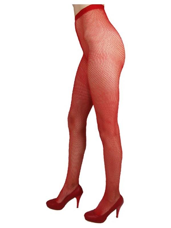 Mite Love File Külotlu Çorap Kırmızı Renk