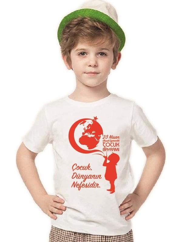Tshirthane 23 Nisan Kıyafetleri Erkek Çocuk T-Shirt