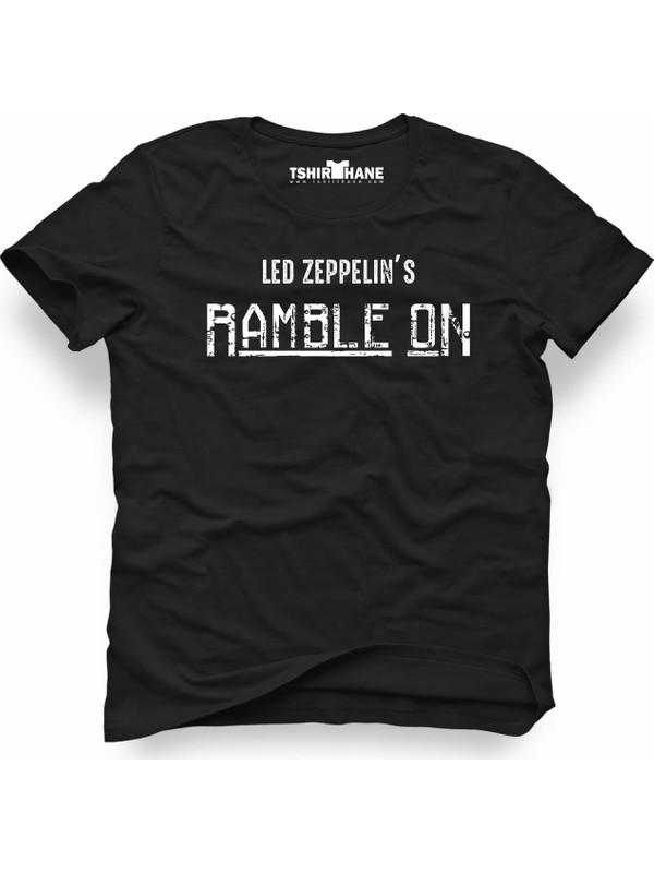 Tshirthane Led-zeppelin rample on Erkek T-Shirt