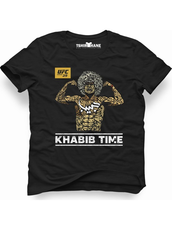 Tshirthane Ufc Khabib Time Erkek T-Shirt