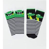 Denokids Erkek Çocuk Kankalar Erkek Soket Çorap 2'Li