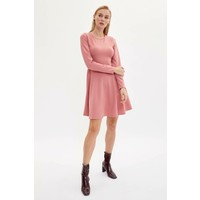 DeFacto Slim Fit Örme Elbise L8371AZ19AU
