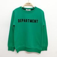 Toontoy Kız Çocuk Sweatshirt Departmen Flok Baskılı