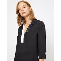 Koton Kadın Taş Detaylı Bluz