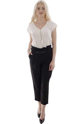 Arda New Line Kadın Siyah Pantolon 0303583-10.01